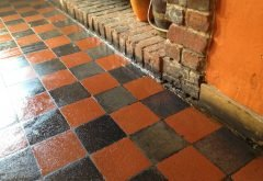 After Victorian Floor Tiles Cleaning Services Berkshire from AbFabStoneFloorCleaning.co.uk