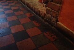 Before Victorian Floor Tiles Cleaning Services Berkshire from AbFabStoneFloorCleaning.co.uk