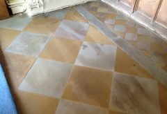 Before Natural Stone Floor Cleaning Services Berkshire from AbFabStoneFloorCleaning.co.uk