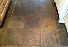 Before Slate Floor Cleaning Services Berkshire from AbFabStoneFloorCleaning.co.uk